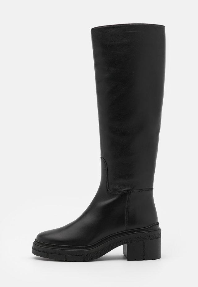 JOSUA - Plateaustøvler - black