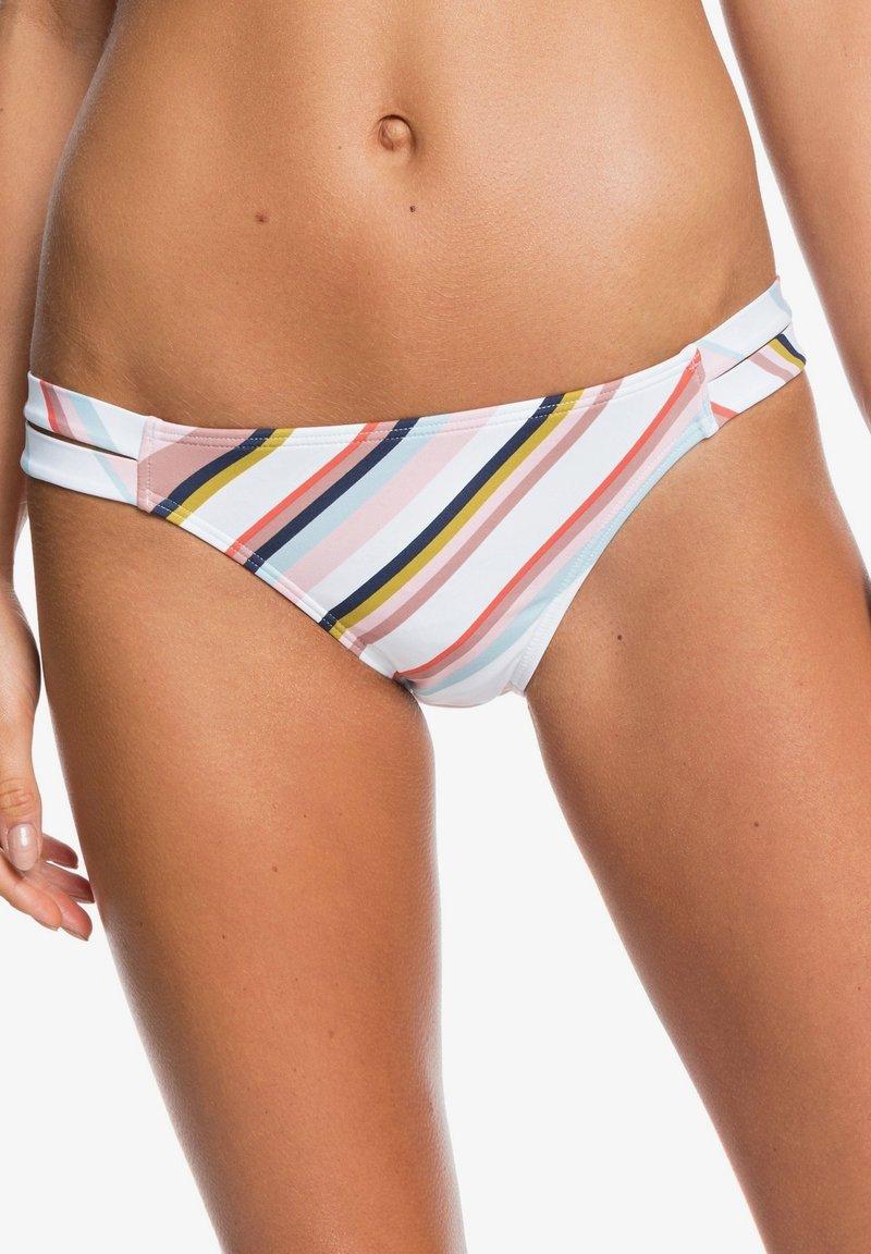 Roxy - PRINTED BEACH CLASSICS - Bikini bottoms - bright white oriental stripe s