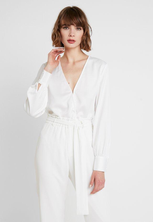 EXCLUSIVE ANIMAL SUZIE BODYSUIT - Bluser - white