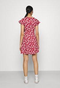 Even&Odd - Jersey dress - red/white - 2
