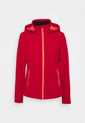 BRENHAM - Soft shell jacket - burgundy