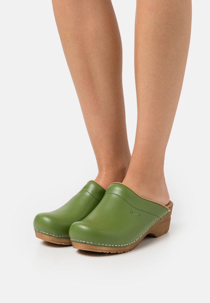 Sanita - ORIGINAL SANDRA OPEN - Clogs - green