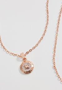 Ted Baker - ELVINA MINI BUTTON PENDANT - Necklace - rosegold-coloured - 4