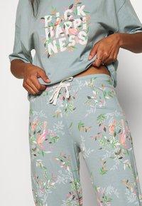 Marks & Spencer London - HAPPINESS - Pyjamas - aqua - 4