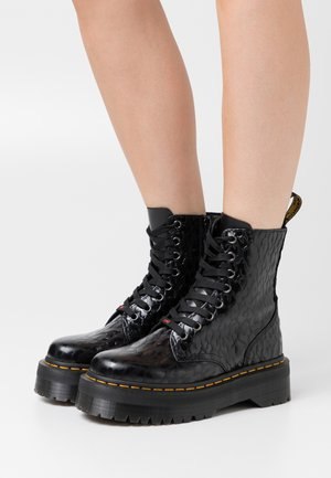 JADON X-GIRL - Bottines à plateau - black