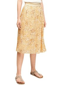 s.Oliver - A-line skirt - sunlight yellow aop - 4