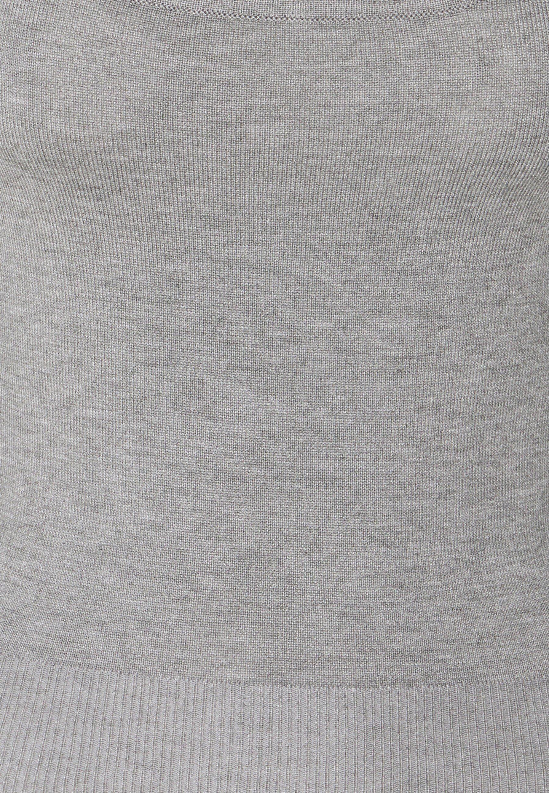 Missguided Petite Two Piece Layered Top - Strikkegenser Grey/grå