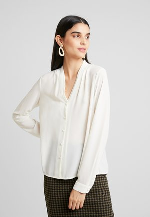 VMCAITLIN V NECK - Button-down blouse - birch