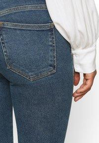 Dr.Denim Petite - MACY - Široké džíny - stoker blue - 3