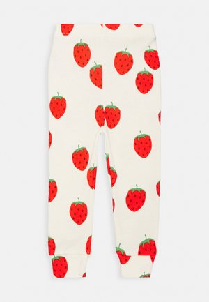 BABY STRAWBERRY UNISEX - Leggings - Trousers - offwhite