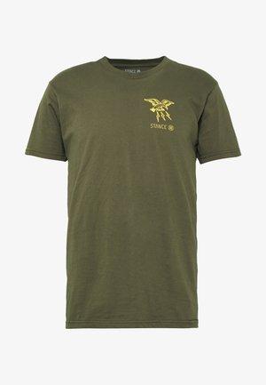 CLAW - Print T-shirt - green