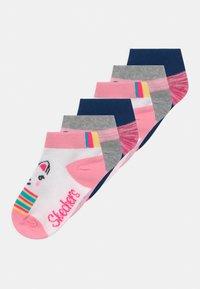 Skechers - GIRLS SEASONAL 6 PACK - Ponožky - white - 0