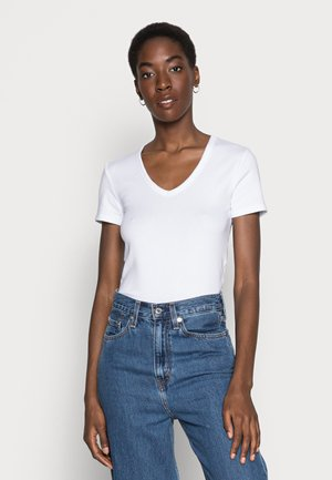 TEE - Basic T-shirt - optic white