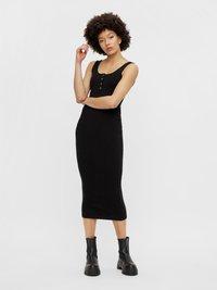 Pieces - Shift dress - black - 0