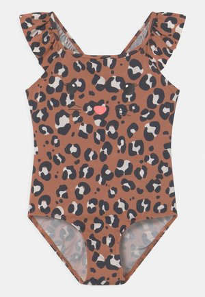 LEO FACE - Swimsuit - light brown