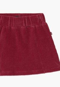 Lemon Beret - SMALL GIRLS - A-line skirt - rio red - 2