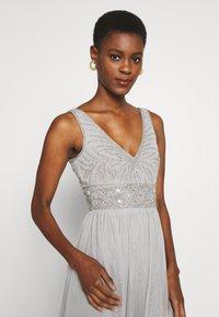 Lace & Beads Tall - MUMULAN MAXI - Galajurk - light grey - 3