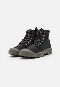 Palladium - PAMPA RCYCL LT WP UNISEX - Lace-up ankle boots - black - 1