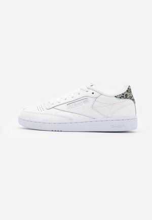 CLUB C 85 - Sneakers basse - white/silver metallic