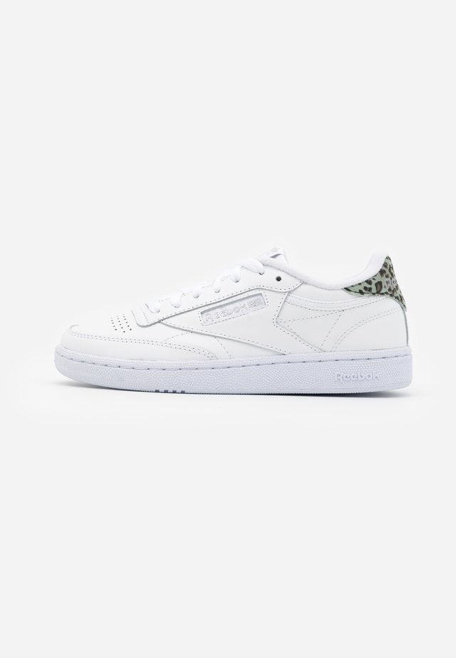 CLUB C 85 - Sneakers laag - white/silver metallic