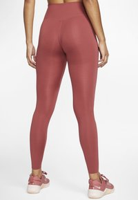 Nike Performance - ONE LUXE - Tights - dark red - 2