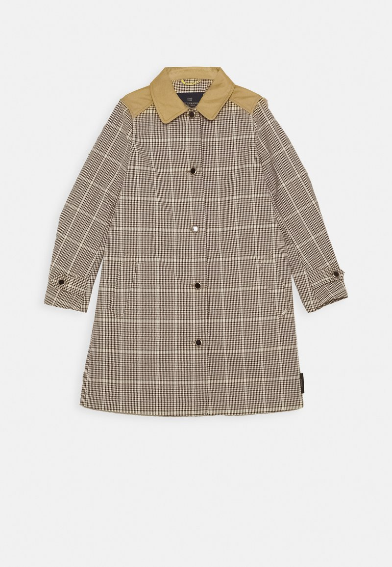 Scotch & Soda - LONGER LENGTH JACKET IN SPECIAL BONDED QUALITY - Trenchcoat - combo