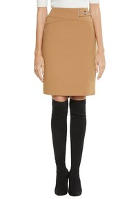 comma - Pencil skirt - camel - 4