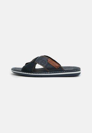 Pantofle - pazifik/sherry/navy