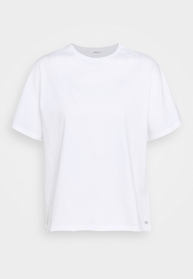 TORI TEE - Basic T-shirt - white