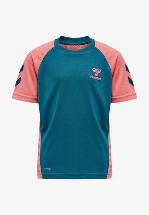 ACTION  - Sports shirt - blue coral/tea rose