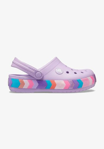 CHEVRON BEADED  - Clogs - orchid