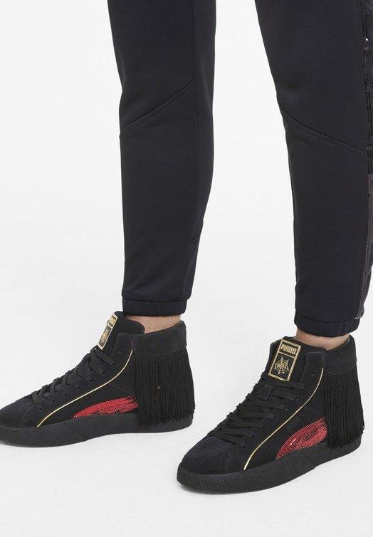 CHARLOTTE OLYMPIA LOVE  - Sneaker high - puma black-high risk red
