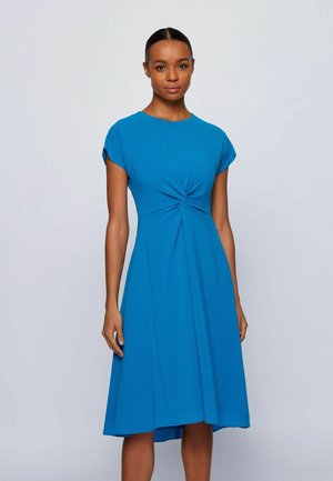DATENA - Day dress - open blue