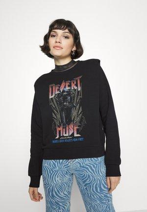 DESERT MUSE PADDED SHOULDER - Sweatshirt - black