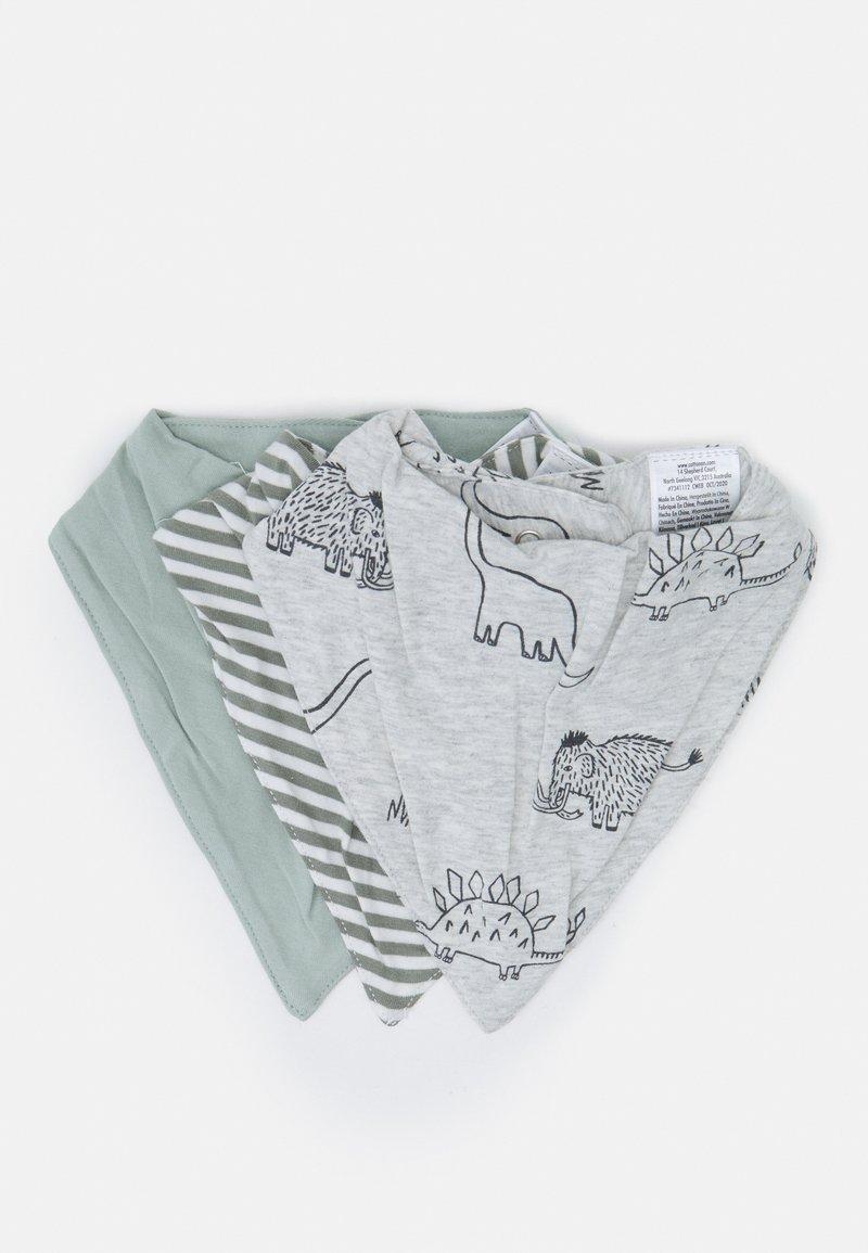 Cotton On - BANDANA BIB 3 PACK UNISEX - Foulard - stone green/silver