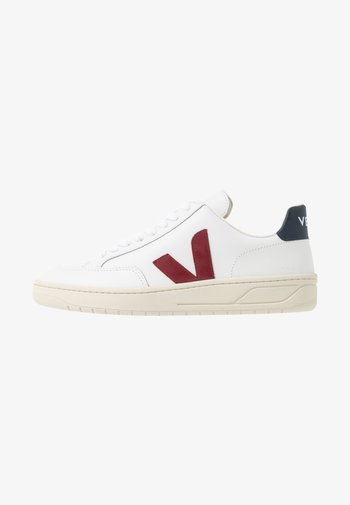 V-12 - Trainers - extra white/marsala/nautico
