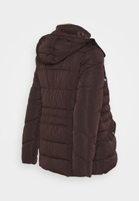 New Look Maternity - MEGAN FITTED PUFFER - Kurtka zimowa - dark burgundy - 2