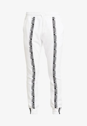 R.Y.V. CUFFED SPORT PANTS - Tracksuit bottoms - white