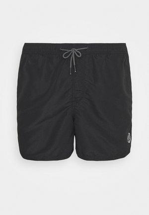 JJIBALI JJSWIM SOLID - Swimming shorts - black