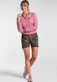 Spieth & Wensky - MIA - Leather trousers - braun - 1