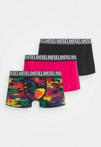 DAMIEN 3 PACK - Pants - black/pink