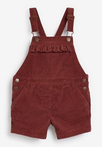 Next - DUNGAREES AND TIGHTS SET - Tuinbroek - red - 1