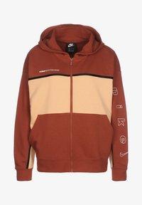 Nike Sportswear - Zip-up hoodie - firewood orange / orange chalk / white - 0