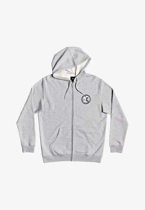 DIVIDE AND CONQUER  - Zip-up hoodie - heather grey