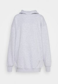 Missguided - PLAYBOY COWGIRL OVERSIZED HOODY DRESS - Vestido informal - grey - 4