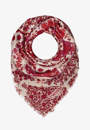 KEFIA  - Foulard - grande rosso lava/bocciolo