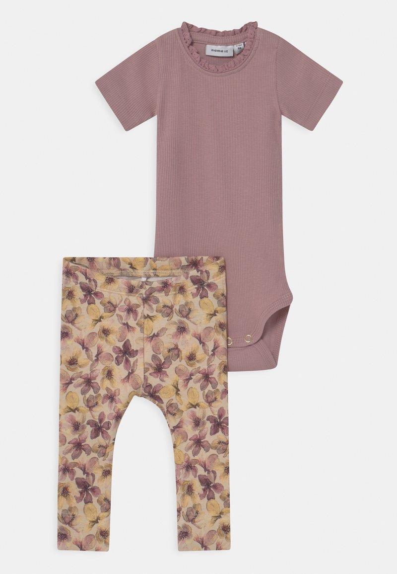 Name it - NBFHERMIONA SET - Print T-shirt - deauville mauve
