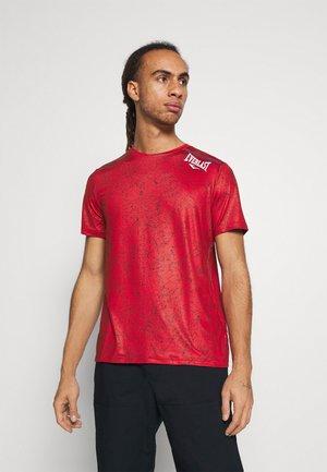 TEE GALENE - Print T-shirt - red