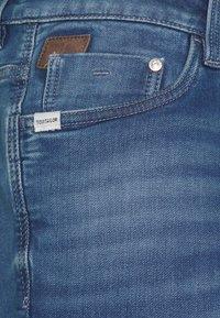 TOM TAILOR - JOSH - Denim shorts - mid stone wash denim - 3