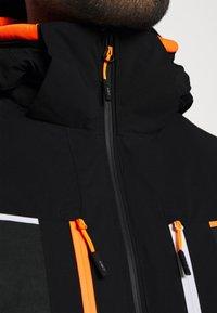 CMP - MAN JACKET ZIP HOOD - Ski jacket - nero - 4